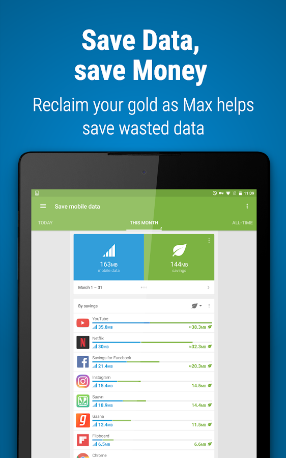 Opera Max - Data manager Screenshot 8