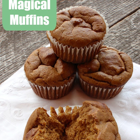 Flourless Magical Muffins