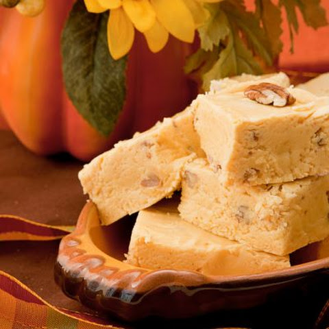 Pumpkin Pie Pecan Fudge