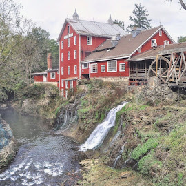 Clifton Mill by Mike Roth - Buildings & Architecture Public & Historical
