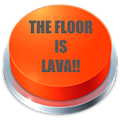 The Floor Is Lava Button Icon