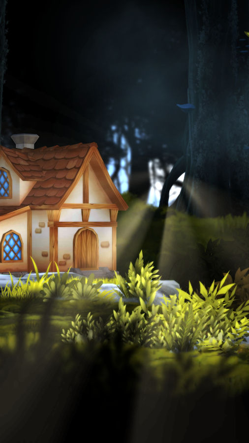 3D Forest House Full LWP Screenshot 4