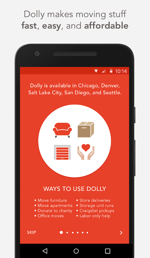 Dolly - Your Move Anything App Screenshot