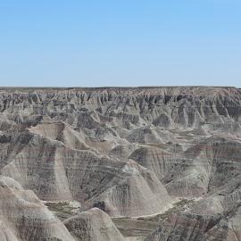 South Dakota Badlands by Eric Maestas - Landscapes Prairies, Meadows & Fields ( national park, south dakota, landscape, prairie, badlands )