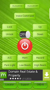 Smart Car Remote - screenshot