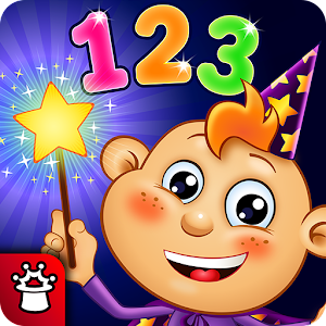 Magic Counting! Toddlers Writing Numbers for Kids Icon