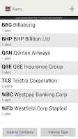 Screenshot of Westpac Online Investing