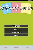 Screenshot of Best Memory Game