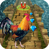 Game Rooster Runner Temple Angry Animal Escape APK for Kindle