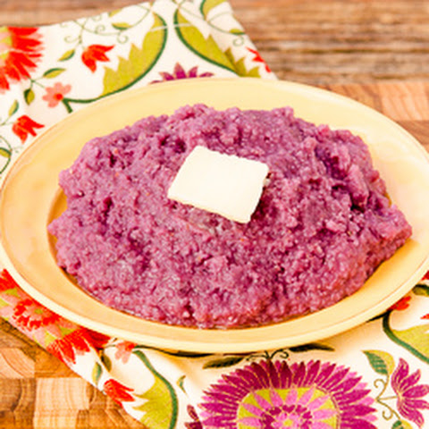 Purple Sweet Potato Grits