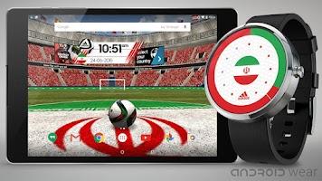 Screenshot of adidas World Football Live WP