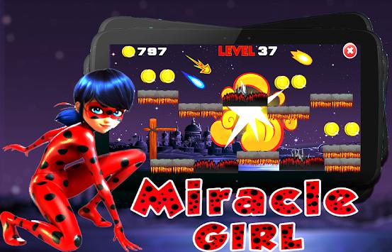 Super Ladybug Run Cat Adventure apk screenshot
