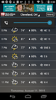 Screenshot of Cleveland19 FirstAlert Weather