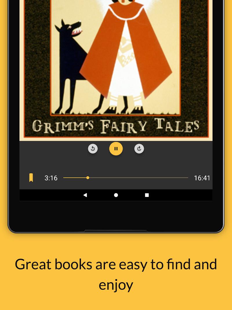 LibriVox Audio Books Supporter Screenshot 9