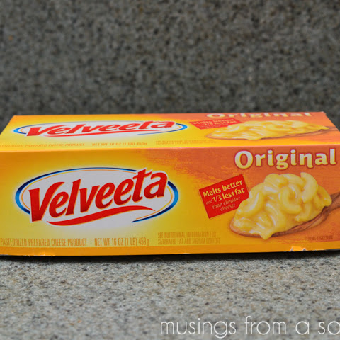 Cheesy Tuna Noodle Casserole Recipe with Velveeta Cheese