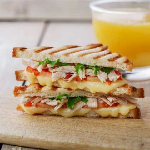 Chicken and Gouda Panini