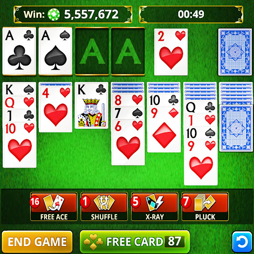 SOLITAIRE CARD GAMES FREE! screenshot 1