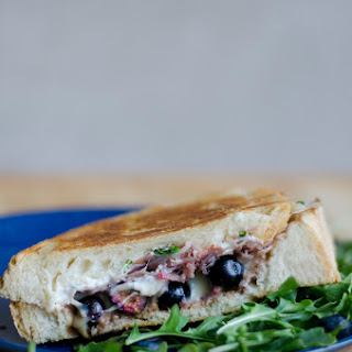 Blueberry Balsamic Grilled Cheese