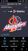 Screenshot of ALTERNATIVA FM