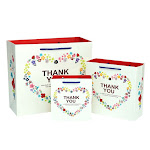 Paper Bag White Gift Paper Party Bag With Handle