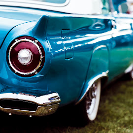 T-Bird II by Mark Ritter - Transportation Automobiles ( thunderbird, classic, car, tail, fins, ford, abstract )