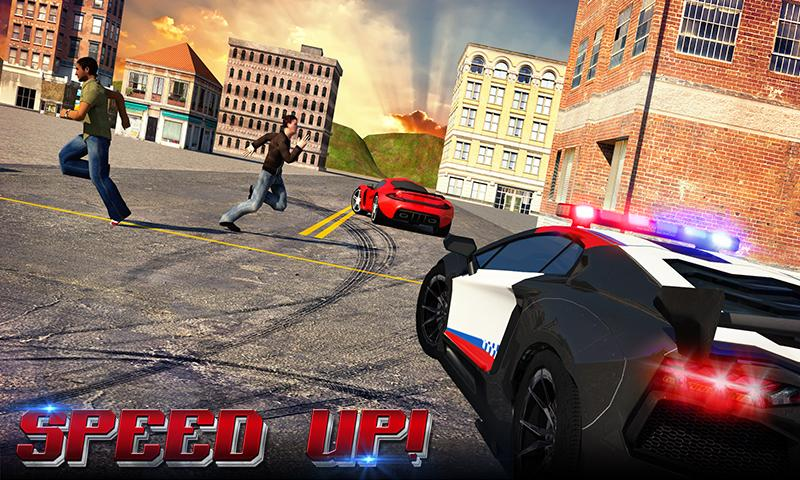Police Chase Adventure sim 3D Screenshot 1