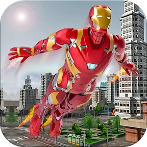 Flying super hero survival free games For PC (Windows & MAC)