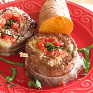 Spinach Stuffed Steak Pinwheels for #SundaySupper