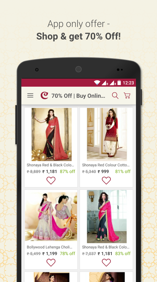 Craftsvilla - Online Shopping Screenshot 1
