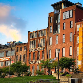 Nashville by Mary Phelps - City,  Street & Park  Neighborhoods ( sunrise, tennessee, nashville, downtown, skyline,  )