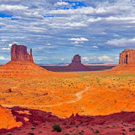 Monument Valley by Papri Mazumdar - Landscapes Deserts
