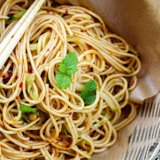 Cold Spicy Szechuan Noodles