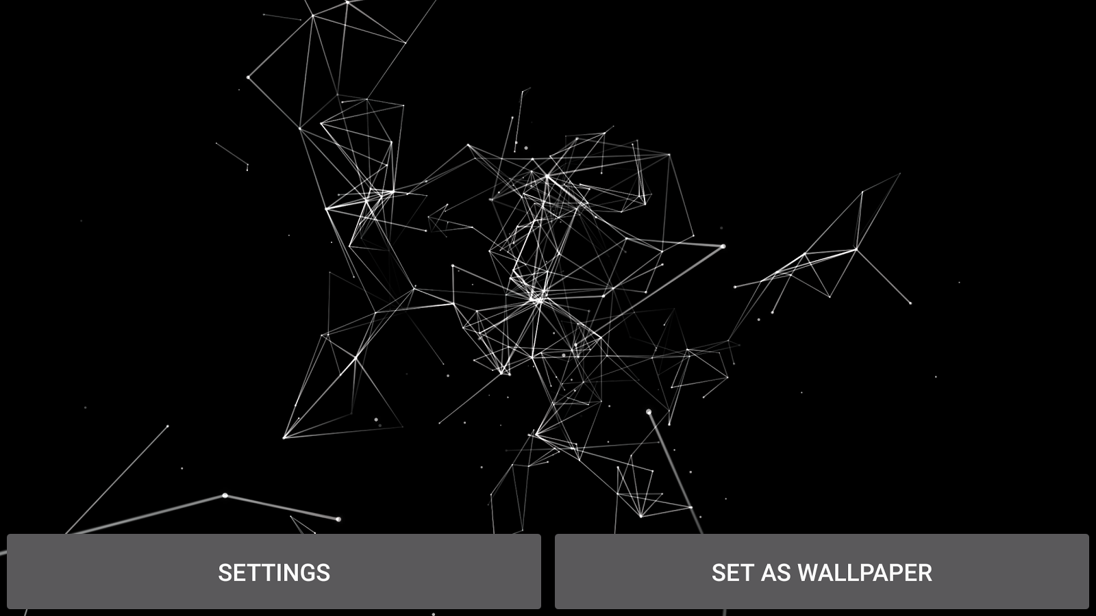 Particle Plexus Live Wallpaper Screenshot 12