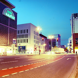 Germany by Duane Wyatt - Buildings & Architecture Other Exteriors ( sky, bright, night, road, light )
