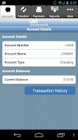 Screenshot of Union Bank & Trust Mobile Bank