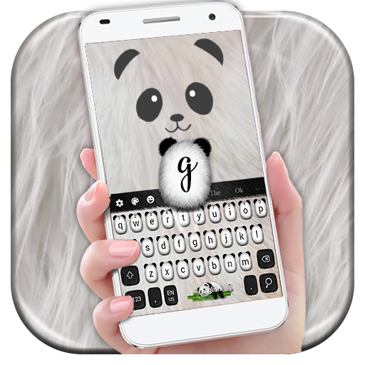 Cuteness Love Panda Keyboard (app)
