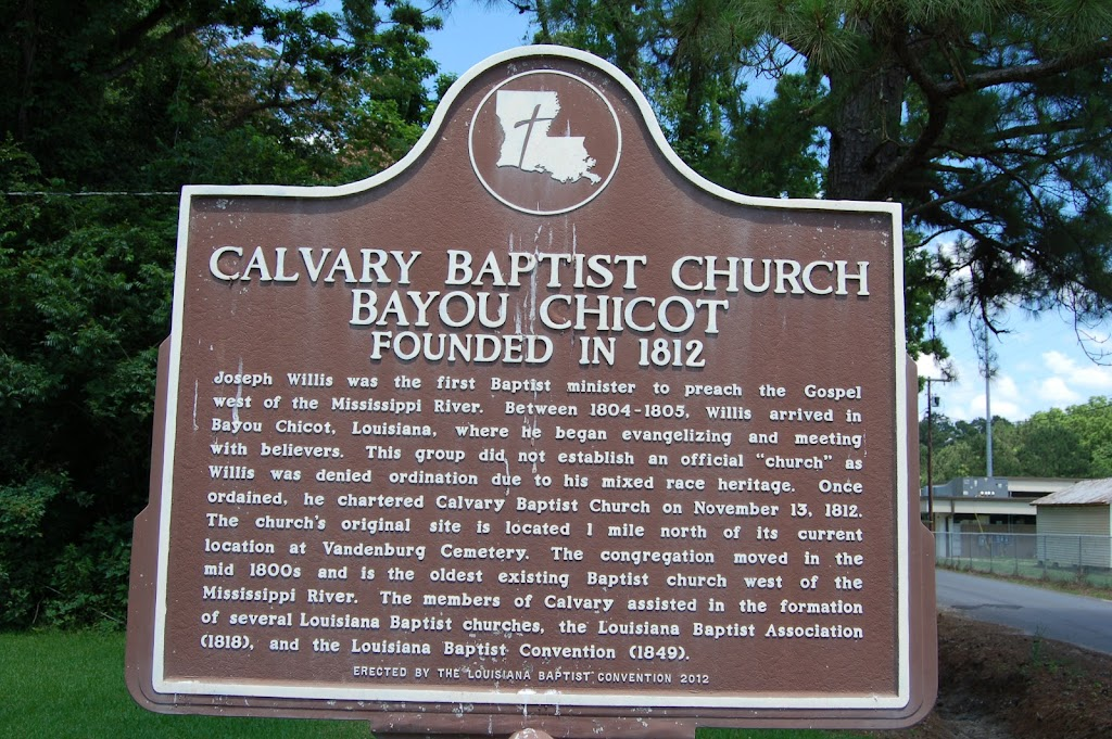 Founded in 1812.Joseph Willis was the first Baptist minister to preach the Gospel west of the Mississippi River. Between 1804-1805, Willis arrived in Bayou Chicot, Louisiana, where he began ...