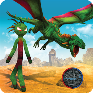 Dragon Stickman Transform Shooting Games for pc