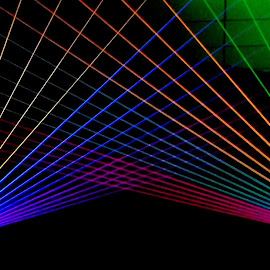 Laser Lights by Susanne Carlton - Abstract Light Painting (  )