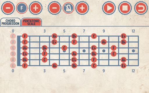 Rock Guitar Jam Tracks - screenshot