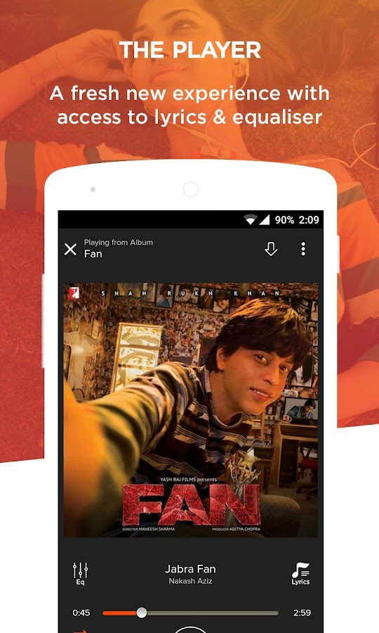 Gaana: Bollywood & Hindi Songs Screenshot 7