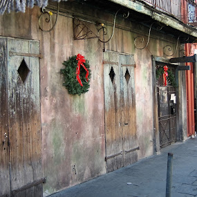 French Quarter in New Orleans by Anu Sehgal - City,  Street & Park  Historic Districts