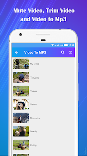 Video to Mp3 : Mute Video /Trim Video/Cut Video Screenshot