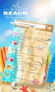 How to download GO SMS PRO BEACH THEME patch 1.0 apk for android