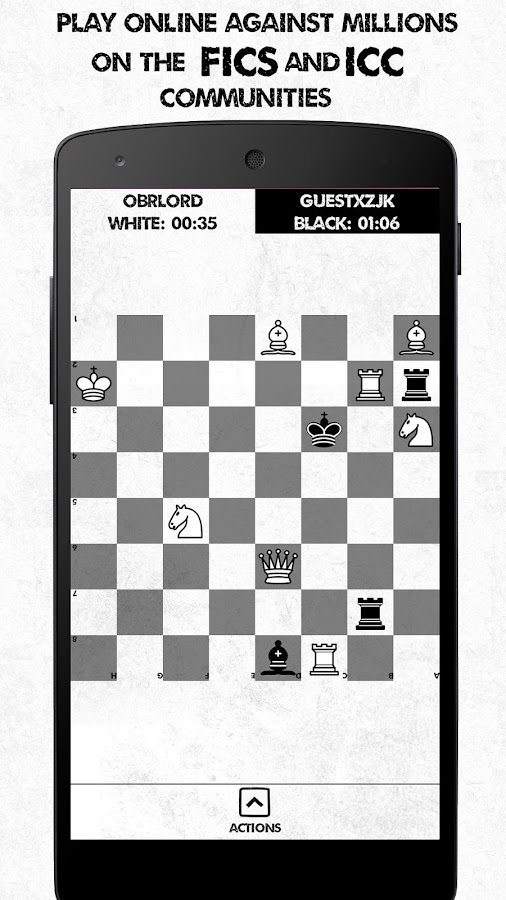 Noir Chess Trainer ICC/FICS Screenshot 3