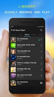 KX Music Player Pro Screenshot