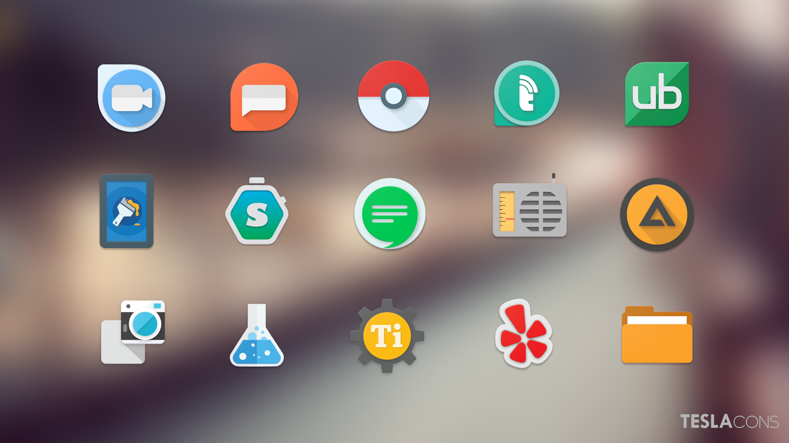 Teslacons Icon Pack Screenshot 1