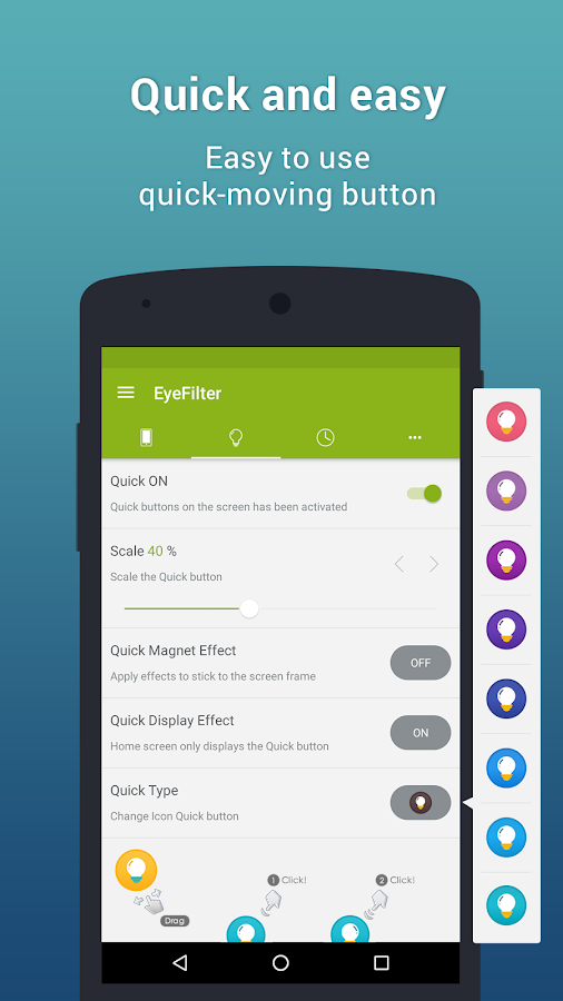 EyeFilter - Bluelight  Screenshot 10