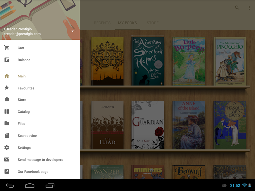 eReader Prestigio: Book Reader screenshot 12