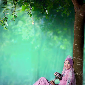 Farida by Zulkifli Omar - Wedding Bride ( wedding, bride, portrait )